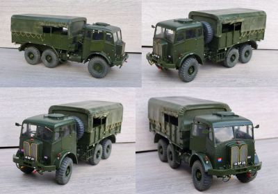 This is my latest catch. A KFS AEC Militant 6x6. 1/24